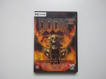 Doom 3 Expansion Pack : Ressurection of Evil PC spel