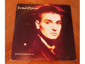 SINEAD O'CONNOR 12'45 rpm Nothing Compares 2 U  1990