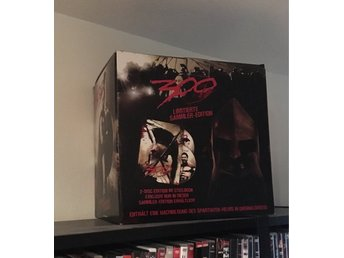 300(limited collectors edition, steelbook, spartan helmet)