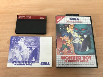 Wonder Boy in Monster World CIB - Sega Master System
