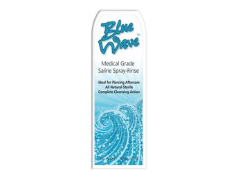 Blue Wave - Saline Spray-Rinse for Piercings