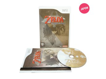 The Legend of Zelda: Twilight Princess (Svenska utgåvan SWD / Wii)