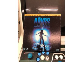 Laserdisc - The Abyss Special Edition - Trippel