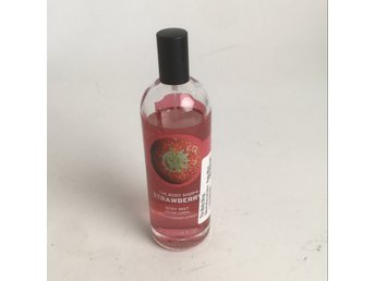 The Body Shop, Skönhetsprodukter, Body Mist Strawberry, Rosa