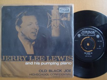 Jerry Lee Lewis Old Black Joe  rare Dutch 45