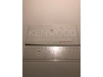 Kenwood listen to the future car audio bilstereo