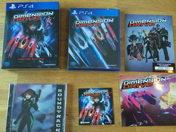 PS4: Dimension Drive (NYTT!!! spel till PlayStation 4 - SHMUP)