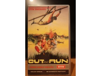 Cut And Run - EX rental, Greek, Polygram, VHS