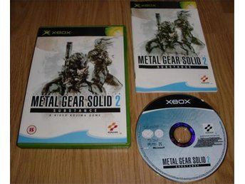 Xbox: Metal Gear Solid 2 Substance