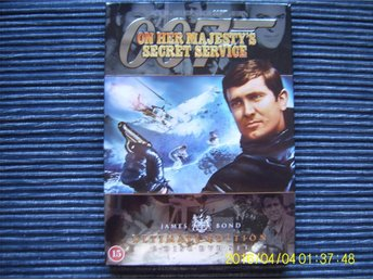 DVD - James Bond 007: On her majesty's secret service (2-disc)