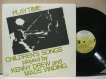 KENNY DREW AND MADS VINDING PLAY TIME    METRONOME 1982