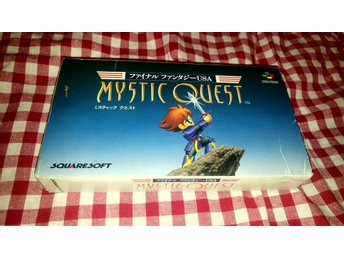 Final Fantasy USA: Mystic Quest för Super Nintendo/Famicom Japansk NTSC-J