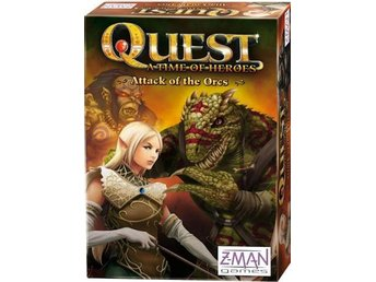 Quest: Attack of the Orcs från Pegasus Spiele