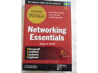 Intensiv plugga Networking Essentials Tittel, Hudson, Stewart