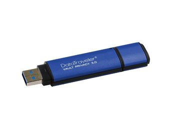 Kingston 4GB DTVP30, 256bit AES Encrypted USB 3.0