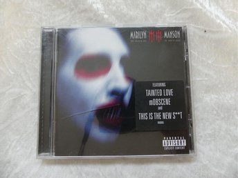 "CD Marilyn Manson ""The golden age of grotesque"""