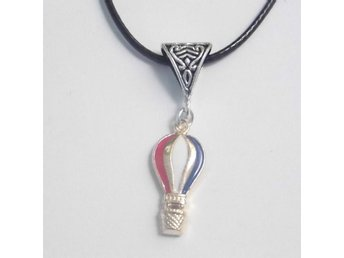 Luftballong halsband / Hot air balloon necklace