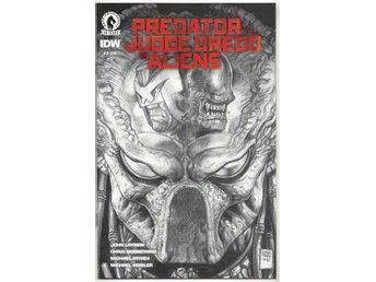 Predator vs. Judge Dredd vs. Aliens # 3 Pencils Variant NM Ny Import