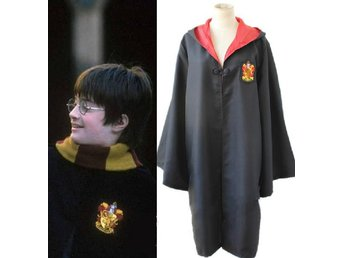 M - Harry Potter Gryffindor Kappa Uniform Dräkt Maskerad