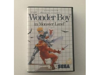 WONDER BOY IN MONSTER LAND - Sega Master System - Svensksålt