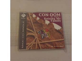 CON-DOM - RAISING MY FAMILY. (CD)