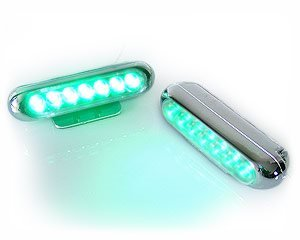 Light Bar 7-LED » - BLåTT LJUS