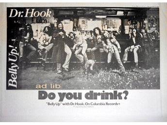 DR. HOOK - BELLY UP, TIDNINGSANNONS 1974
