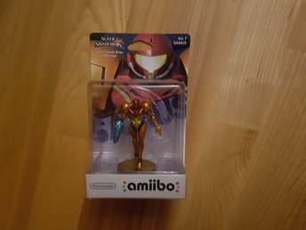 Nintendo Amiibo. Super Smash Bros Collection - Samus. Ny