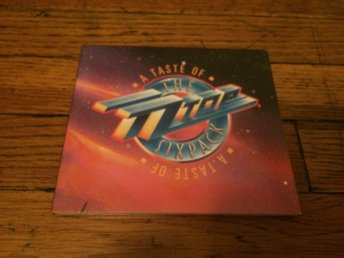 ZZ TOP A Taste Of ZZ Top Sixpack PROMO CD 1987 USA Import RARE