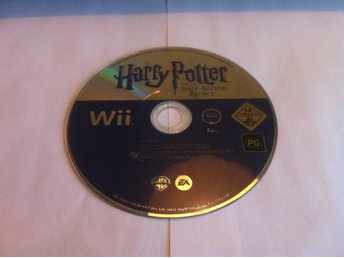 Wii: Harry Potter and the Half-Blood Prince (Enbart skivan!)