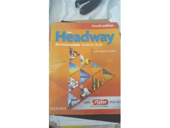 Engelska Headway pre intermediate book