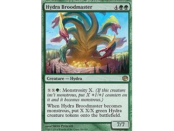 Magic the Gathering - Journey into Nyx - Hydra Broodmaster - FOIL