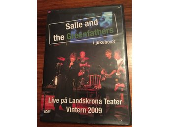 Salle and the greenfathers 2x dvd live Landskrona Teater