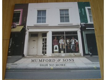 Mumford & Sons Sigh no more LP 2009 EX