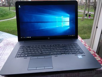 HP ZBook 17 G3 - i7-6820HQ + 16GB RAM + NVIDIA Quadro M3000M