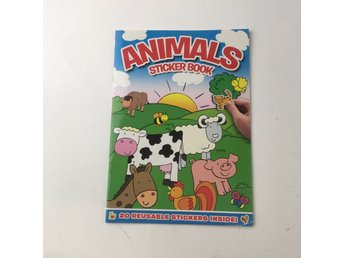 Bok, Animals sticker book, ., Häftad, ISBN: 9781847506863