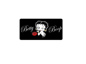 Betty Boop License Plate Kiss  Nummerskylt.