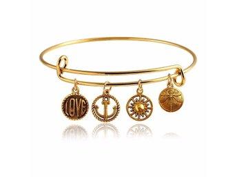 Spanskt vintage Toledo armband guld på stål dam.. (329456756) ᐈ Köp ... 47ec3c556d0b6