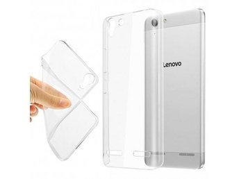 Lenovo Vibe K5 Plus Silikon skal Transparent Färg: Transparent