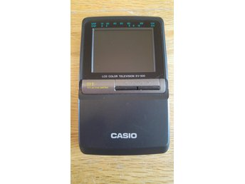 CASIO LCD COLOR TELEVISION EV-500.