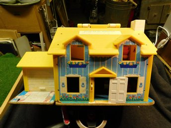 Fisher Price Play Family House 1969 Sammlar Leksak