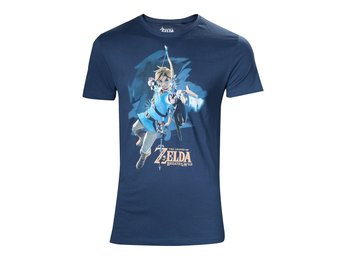 T-Shirt - Nintendo - Zelda Breath of the Wild - Link with arrow - L