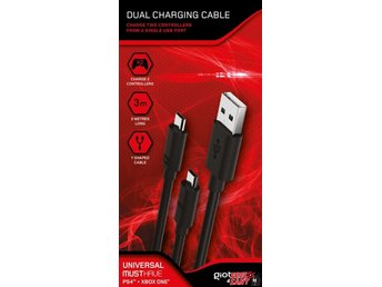 Gioteck Dual Charging Cable