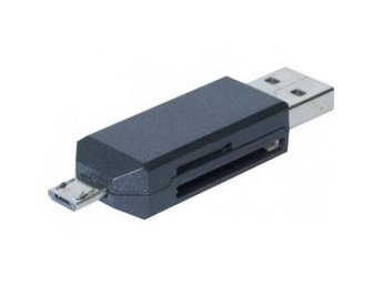 EXC OTG USBmemory card reader without Cord