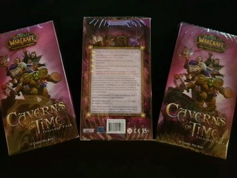 3st World of Warcraft TCG Kort - Caverns of Time Treasure Pack