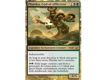 Magic the Gathering - Journey into Nyx - Pharika, God of Affliction - FOIL
