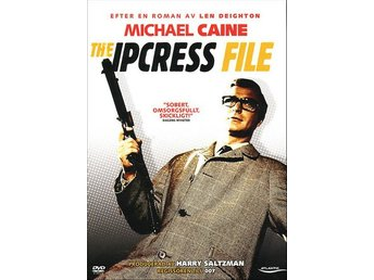 THE IPCRESS FILE (1965) - Michael Caine, Nigel Green - DVD - OOP