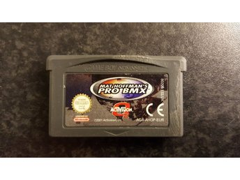 Mat Hoffmans Pro Bmx. Hoffman's. Gameboy Advance.
