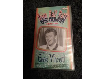 Gene Vincent town hall party 1958/59 vhs