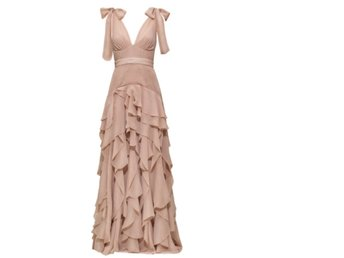 H&M CONCIOUS EXCLUSIVE NUDE DRESS